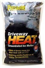 Prestone, 50 LB, Driveway Heat, Calcium Chloride, Pellet Premium Ice Melt 105417