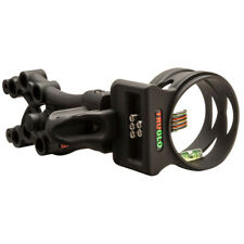 New 2018 TruGlo CarbonXS Xtreme Black .019 5 Pin Bow Sight with Light TG5805B