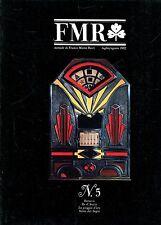 FMR N.5 LUG/AGO 1982 BERNINI - GOBELINS - SLOT-MACHINES - PALIO DI SIENA