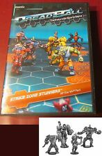 Dreadball MGDBM115 Strike Zone Stunners All Star MVP Pack (4) Miniatures Players