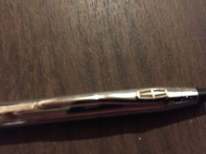 Lincoln rare cross chrome pen  vintage part