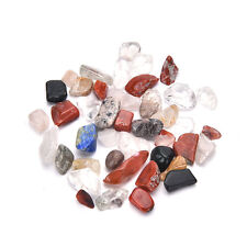 50G Natural Colorful Quartz Crystal Mini Stone Rock Chips Specimens Healing HU