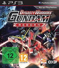 Dynasty Warriors Gundam Reborn Nuovo & Originale imballato ps3 PLAYSTATION 3