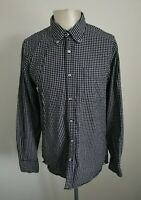 Mens Tommy Hilfiger Long Sleeve Checked Shirt - Size Large
