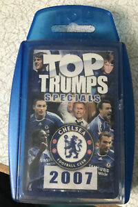 Chelsea Football Club 2007 Top Trumps Sealed Battle Game Winning Moves 2006