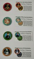 2016-2019 PSWCS Star Wars medallions Set of (4) Coins Pennsylvania Fan Club (B)