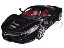FERRARI LAFERRARI F70 HYBRID MATT BLACK 1/24 DIECAST MODEL CAR HOTWHEELS BLY62