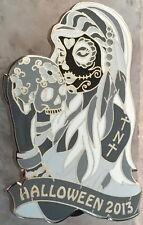 HRC HOLLYWOOD TNT 2013 HALLOWEEN Sugar Skull Girl B&W PIN 50 Thursday Nt Traders