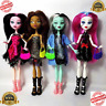 Monster High Draculaura Doll Lot Set 4Pcs Dolls Lagoona Wolf Mattel Clothes Gift