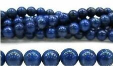 10mm Blue Egyptian Lazuli Lapis Gemstone Loose Bead 15''