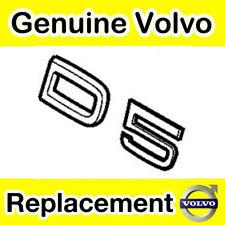 Genuine Volvo D5 Tailgate / Boot Emblem (2011 Models Onwards)