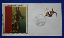 "Ireland (459) 1979 Contemporary Irish Art Colorano ""Silk"" FDC"
