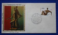 """Ireland (459) 1979 Contemporary Irish Art Colorano """"Silk"""" FDC"""