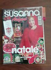 LE IDEE DI SUSANNA DICEMBRE 2000 PUNTO CROCE MAGLIA