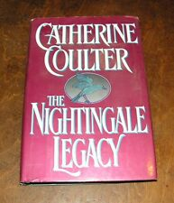 THE NIGHTINGALE LEGACY by CATHERINE COULTER HB/DJ 1994