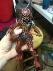 NECA Lava Planet Predator Red Kenner Figure COMPLETE