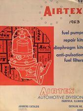 1932 - 1953 AIRTEX  FUEL PUMP CATALOG CAR TRUCK USE & INTERCHANGE LIST GM FORD