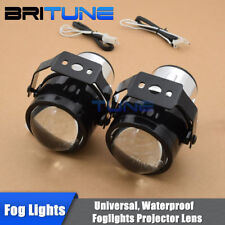 Universal 2.5'' HID Bi-xenon Fog Lights Driving Lamps H11 Projector Lens Tuning