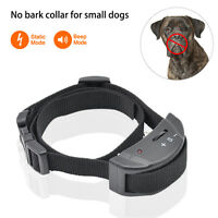 Anti Barking E-Collar No Bark Dog Training Shock Collar for Small Medium Dog
