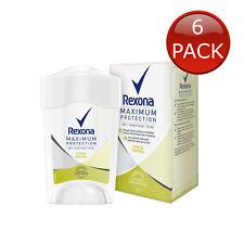 6 x REXONA CLINICAL PROTECTION DEODORANT STRESS CONTROL ANTIPERSPIRANT DEO 45ml