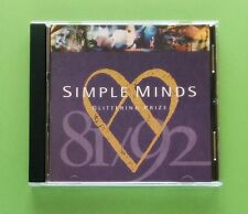 Simple Minds Glittering Prize 81/92 CD