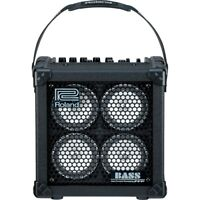 Roland MICRO CUBE BASS RX Battery-Powered Combo Amplifier Amp w/ Effects Tuner