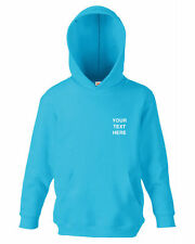 Personalised Hoodies (2-16 Years) for Boys