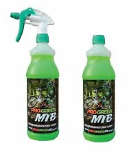 * 3 X 1l Pro-green MX Bike Motorcycle Motocross Cycle MTB Cleaner Wash 34 8