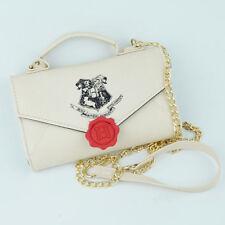 Harry Potter Hogwarts Stamp Letter Sidekick Handbag Shoulder Bag Wallet Women