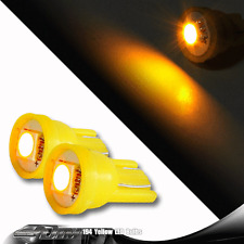 2Pcs T10 SMD LED Wedge Light Bulbs W5W 2825 158 192 168 194 For HONDA FORD-AMBER