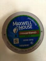 Maxwell House House Blend Decaf Coffee, K-CUP Pods, 84 Count Exp. 03/19/19