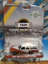 GREENLIGHT 1988 FORD LTD CROWN VICTORIA TAXI TIJUANA CENTRO,MEXICO