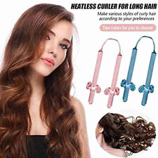 Heatless Curling Rod Lazy Hair Curlers Roller Headband Ribbon Curly Hairdressin8