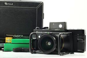 【 N MINT++ Count 007 】 Fuji Fujifilm G617 Panorama Camera 105mm f/8 Japan #529