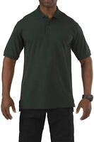 5.11 Tactical Mens Shirt L.E.Green Size 2XL Polo Wrinkle-Resistant $48 962