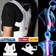 Adjustable Magnetic Posture Support Shoulder Corrector Back Brace Belt Therapy