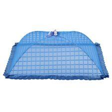 B8V4 Set of 1 Square Mesh Screen Umbrella Food Cover Net Tents Reusable and