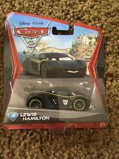 LEWIS HAMILTON Disney Pixar CARS 2 diecast toy car #24 NIP Formula 1 F1