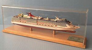 CARNIVAL LEGEND cruise ship MODEL ocean liner replica 1:900 scale by Scherbak