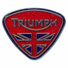 Triumph Motorcycle Union Triangle Pin Badge