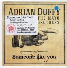 (EZ742) Adrian Duffy & The Mayo Brothers, Someone Like You - 2013 DJ CD