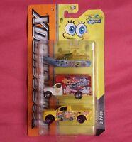 Matchbox Spongebob Squarepants  3-Vehicle Series