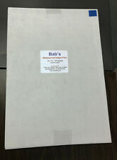 "500 Sheets- NEW Premium Waterproof Inkjet Film 13"" x 19"""
