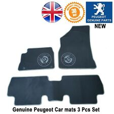 Peugeot 3008 Roland Garros Car Mats Mat Floor Carpet Genuine Luxury New Interior