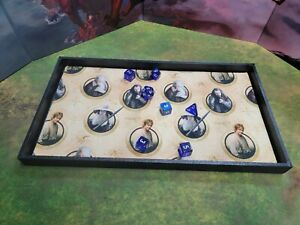 Lord of the Rings The Hobbit Dice Tray, Gaming Tray