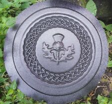 Concrete thistle stepping stone plastic L@@K at  5000 more molds in my store