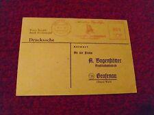 Schmalzler  Bestell-Postkarte von Bogenstätter vom 13.11.48