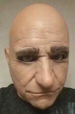 Realistic Male Man Latex Mask Sean Connery James Bond Disguise Costume Halloween