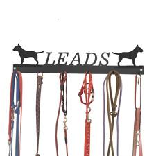 English Bull Terrier Dog Metal Tidy Lead Hooks