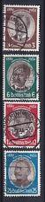 Briefmarken Dt. Reich 540-543 y gestempelt, Kolonialforscher (Var. 1)
